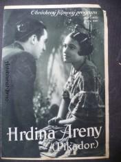 náhled knihy - Hrdina Areny (Pikador.) - obrázkový filmový program, č. 554
