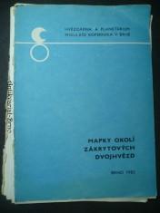 náhled knihy - Mapky okolí zákrytových dvojhvězd