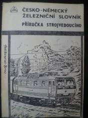 náhled knihy - Česko-německý železniční slovník, příručka strojvedoucího
