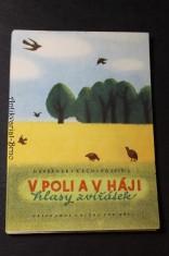 náhled knihy - V poli a v háji : hlasy zvířátek : obrázková knížka pro děti