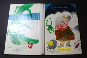 náhled knihy - Ptačí klepy : [pro malé čtenáře]