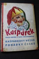 náhled knihy - Kašpárkovy hezké pohádky české