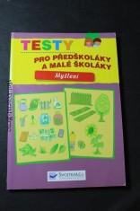 náhled knihy - Testy pro předškoláky a malé školáky : myšlení
