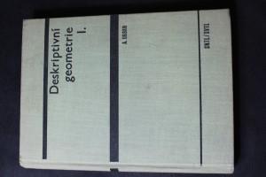 náhled knihy - Deskriptivní geometrie I.