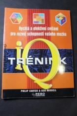 náhled knihy - IQ trénink : rychlá a efektivní cvičení pro rozvoj schopností vašeho mozku