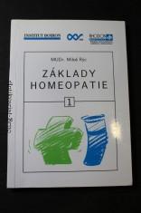 náhled knihy - Základy homeopatie : učební texty k základnímu běhu homeopatických seminářů. Díl 1