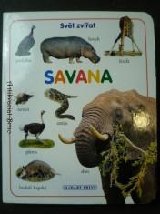 náhled knihy - Svět zvířat Savana