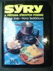 náhled knihy - Sýry a příprava sýrových pokrmů