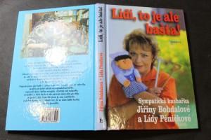 náhled knihy - Lidi, to je ale bašta! : sympatická kuchařka Jiřiny Bohdalové a Lídy Pěničkové