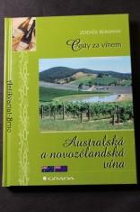 náhled knihy - Australská a novozélandská vína
