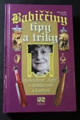 náhled knihy - Babiččiny tipy a triky