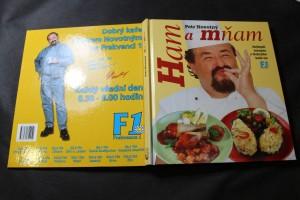 náhled knihy - Ham a mňam : nejlepší recepty z Dobrýho kafe na F1
