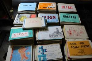 náhled knihy - QSL lístky  - cca 3 300 kusů