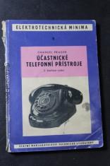 náhled knihy - Účastnické telefonní přístroje, 2. doplněné vydání