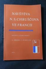 náhled knihy - Návštěva N. S. Chruščova ve Francii, Projevy a dokumenty