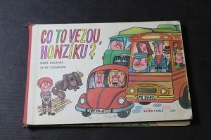 náhled knihy - Co to vezou Honzíku?