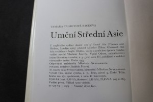 náhled knihy - Umění Střední Asie