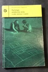 náhled knihy - Psychologie předškolního dítěte a jeho výchova v rodině