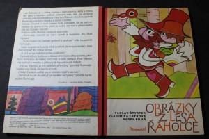 náhled knihy - Obrázky z lesa Řáholce