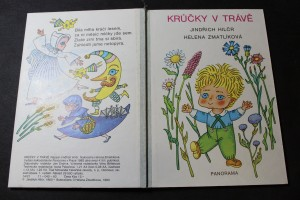 náhled knihy - Krůčky v trávě