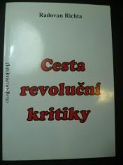 náhled knihy - Cesta revoluční kritiky