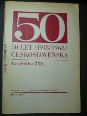 náhled knihy - 50 let Československa 1918/1968 - Ke vzniku ČSR