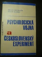 náhled knihy - Psychologická vojna a československý experiment