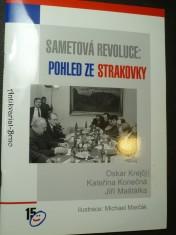 náhled knihy - Sametová revoluce: pohled ze Strakovky