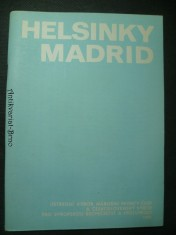 náhled knihy - Helsinky - Madrid