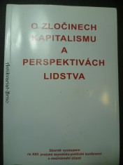 náhled knihy - O zločinech kapitalismu a perspektivách lidstva