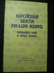 náhled knihy - Kacířská sekta fa-lun kung klamající svět a ničící životy