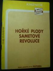 náhled knihy - Hořké plody sametové revoluce