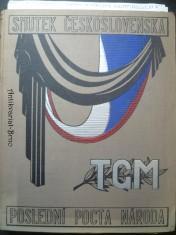 náhled knihy - Smutek Československa - poslední pocta národa prezidentu Osvoboditeli Tomáši Garrigue Masarykovi