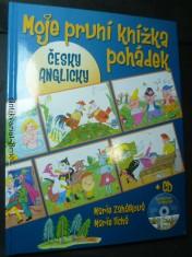 náhled knihy - Moje první knížka pohádek česky/anglicky + CD