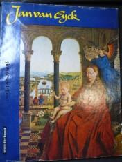 náhled knihy - Jan van Eyck - mit elf ferbigen Reproduktionen und fünf einfarbigen Tafeln