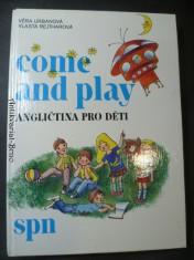 náhled knihy - Come and play - angličtina pro děti