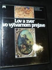 náhled knihy - Lov a zver vo výtvarnom prejave