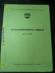 náhled knihy - Elektrotechnická měření pro 3. ročník