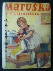 náhled knihy - Maruška a její zlatovláska