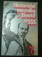 náhled knihy - Historické mezníky v životě KSSS
