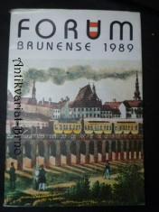 náhled knihy - Forum Brunense 1989. Sborník prací Muzea města Brna.