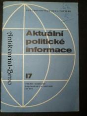 náhled knihy - Aktuální politické informace