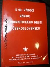náhled knihy - K 90. výročí vzniku komunistického hnutí v Československu