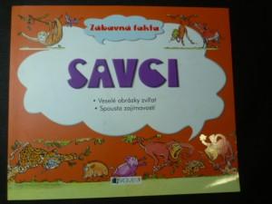 náhled knihy - Zábavná fakta - Savci - veselé obrázky zvířat, spousta zajímavostí