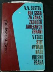 náhled knihy - Boj SSSR za zákaz zkoušek jaderných zbraní