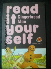 náhled knihy - Read it yourself - Gingerbread Man