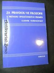 náhled knihy - Za pravdou ve filozofii v průvanu společenských proměn