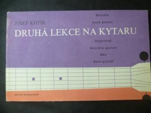 náhled knihy - Druhá lekce na kytaru