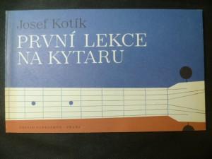 náhled knihy - První lekce na kytaru