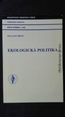 náhled knihy - Ekologická politika